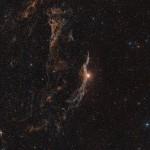 The Veil Nebula (ground-based view)