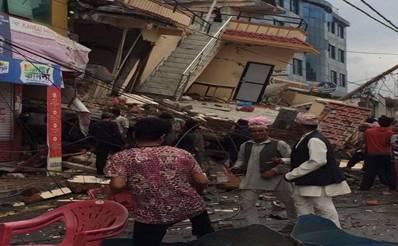 Earthquake North India, Pakistan, and Afghanistan