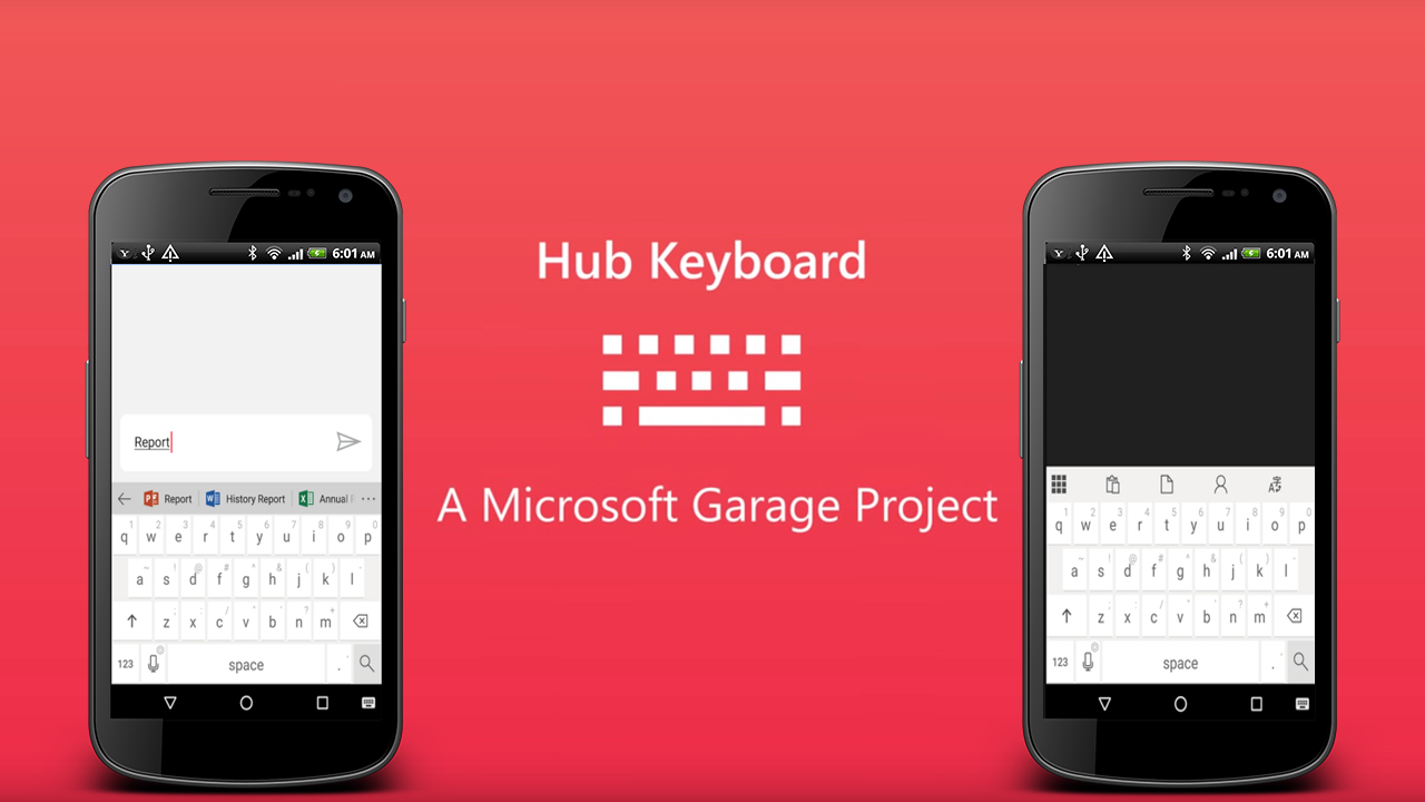 Microsoft's New Hub Keyboard App
