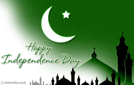 Pakistan Independence Day Greetings, Wishes & Status