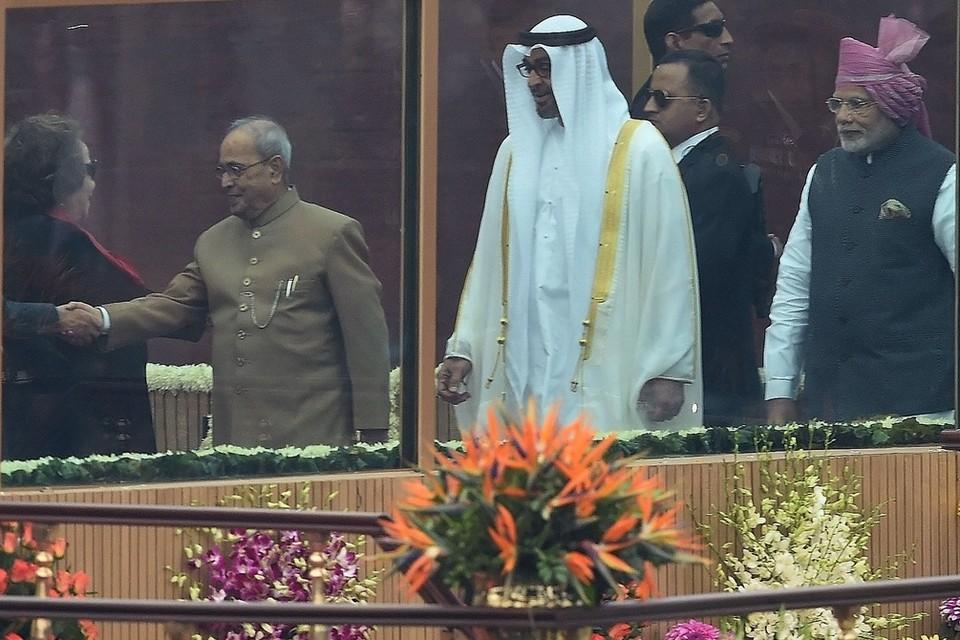 Crown Prince of Abu Dhabi, Sheikh Mohammad bin Zated Al Nahyan