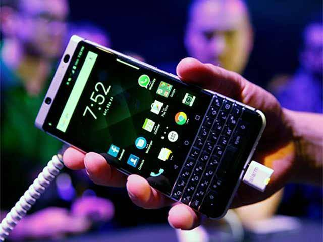 MWC 2017: Blackberry Rolls Out Keyone Smartphone