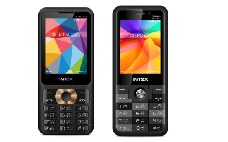 Intex Launches Turbo Selfie+ and Ultra 4000i Feature Phones