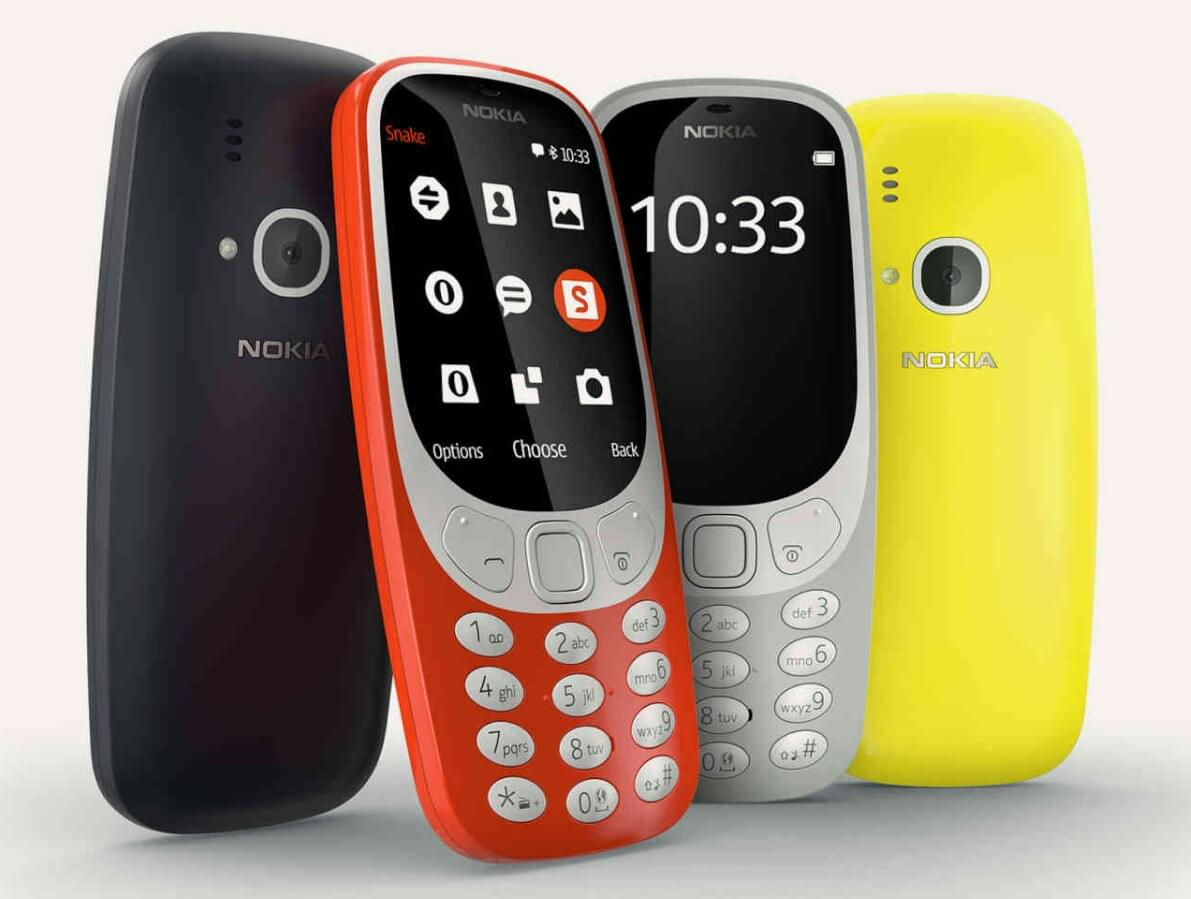 Nokia 3310 at MWC 2017