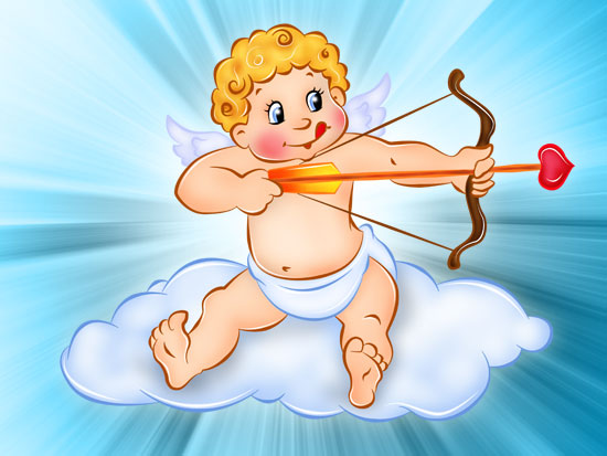 the Book of Cupid—the God of Love