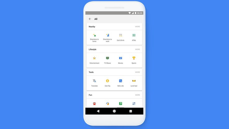Google App's 'Tappable Shortcuts' Feature Makes Search Easier
