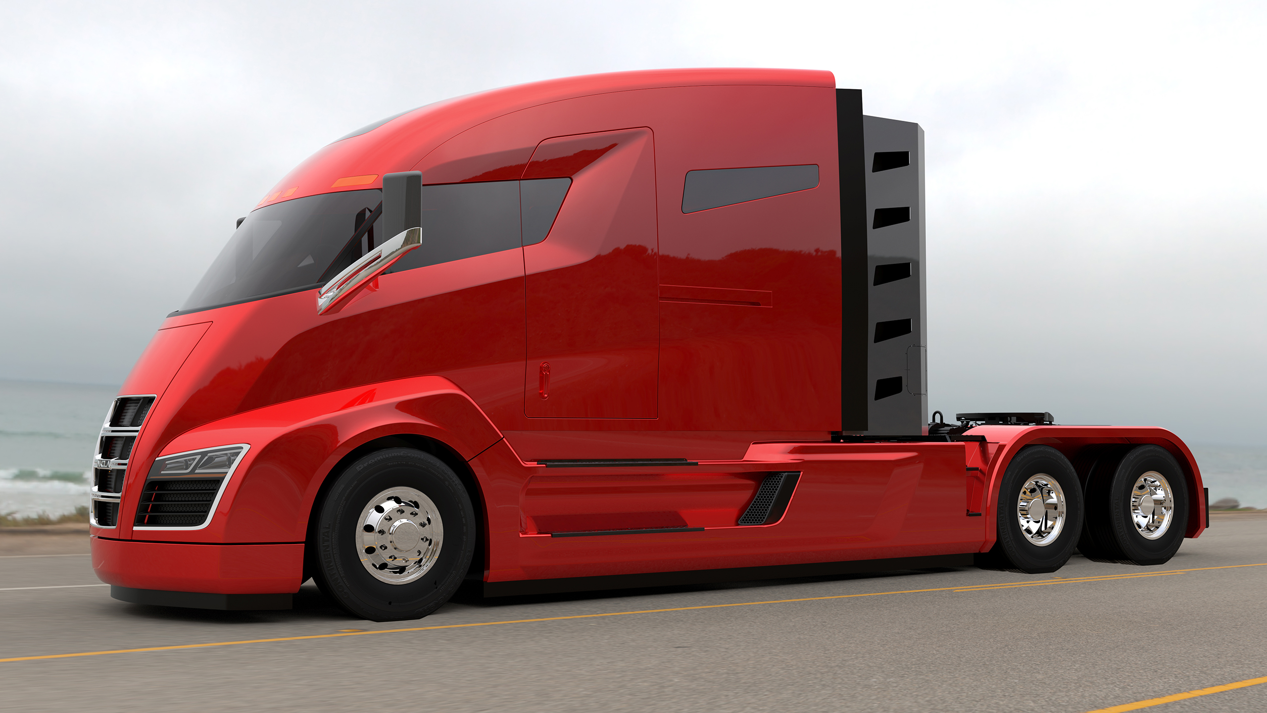 Nikola Motor Company Reveals Electric Truck