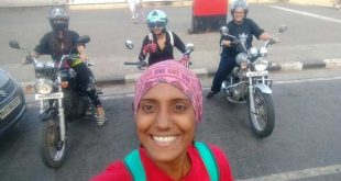 A Lady Who Rules the Wheel on the Indian Roads—Chetna Nagesh Pandit
