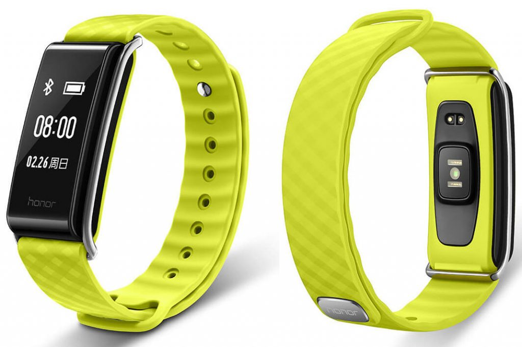 Huawei Honor Band A2 Fitness Tracker with an OLED Display and Heart Rate Sensor