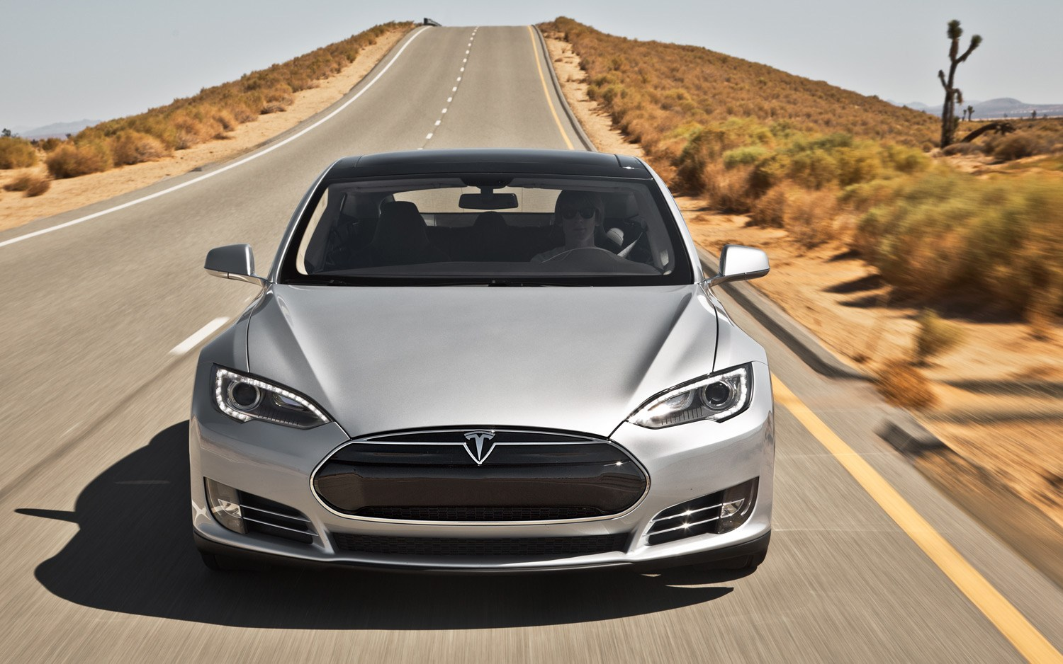 April Registrations of Tesla Drop In California Market