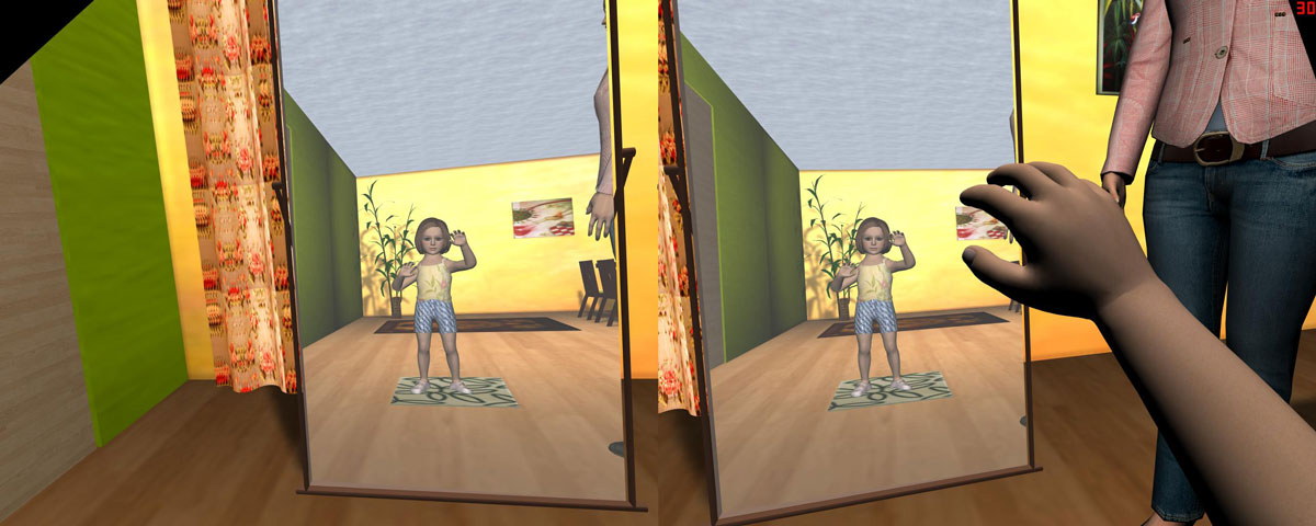 A Virtual Reality Game to Assist Perceive Alzheimer's