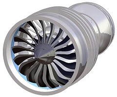 Commercial Turbofan Engines