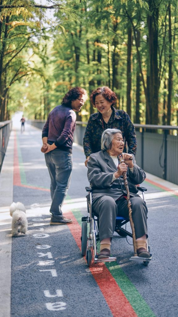 Elderly by Smart Devices